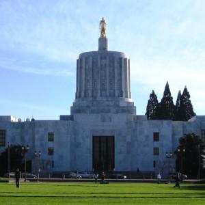 El edificio del Capitolio del Estado de Oregon