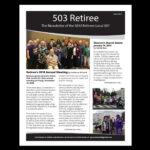 April 2019 Retiree Newsletter