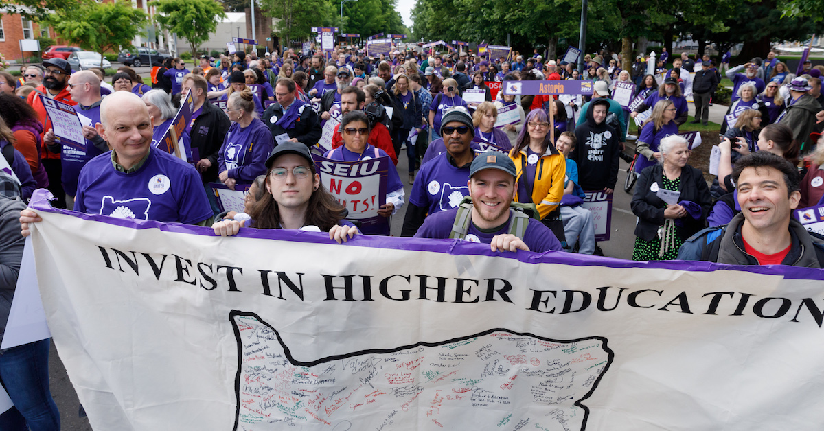 SEIU503 Local | Management's proposal could cut your pay by