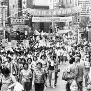 Huelga de trabajadores de la confección