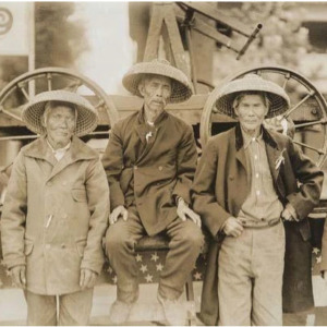 Chinese workers on Central Pacific Railroad