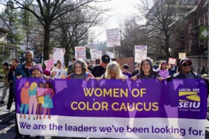 Цветные женщины Caucus