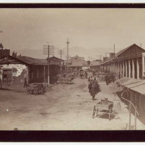 Chinese Quarter of Los Angeles in 1885
