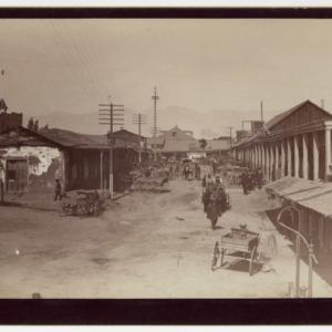 Barrio chino de Los Ángeles en 1885