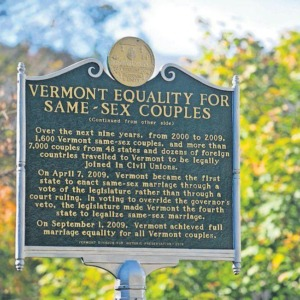 Uniones civiles de Vermont