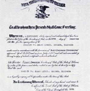 Carta de la Sociedad de Derechos Humanos