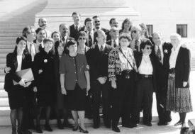 Demandantes y equipo legal de Romer v Evans